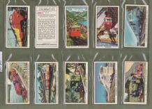 Collectable TRADE cards set The story of Locomotive